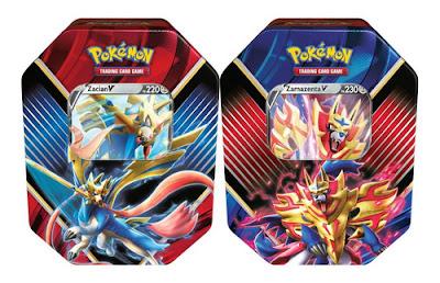 Latas Pokémon Lendas de Galar
