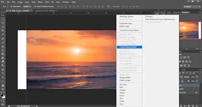 Tutorial Clipping Mask di Photoshop