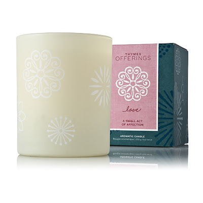 thymes offerings love candle