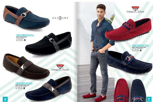 Zapatos impuls para caballeros catalogo PV 2020