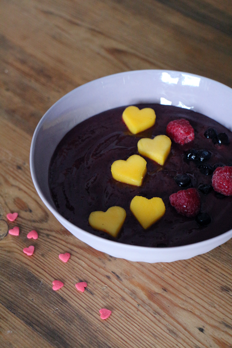 Smoothie Bowl Valentinstag