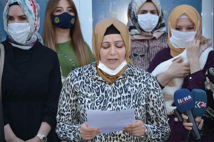 Diyarbakır'da AK Partili kadınlardan sokak hayvanlarına destek çağrısı