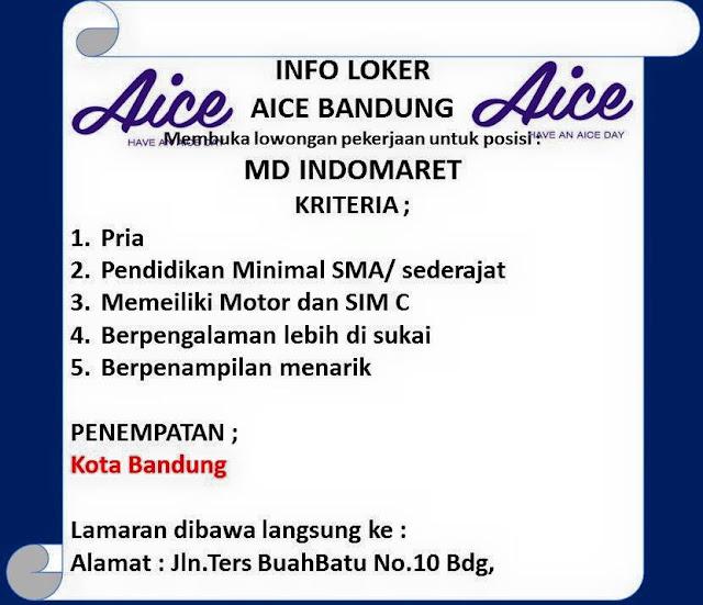 Loker AICE Bandung