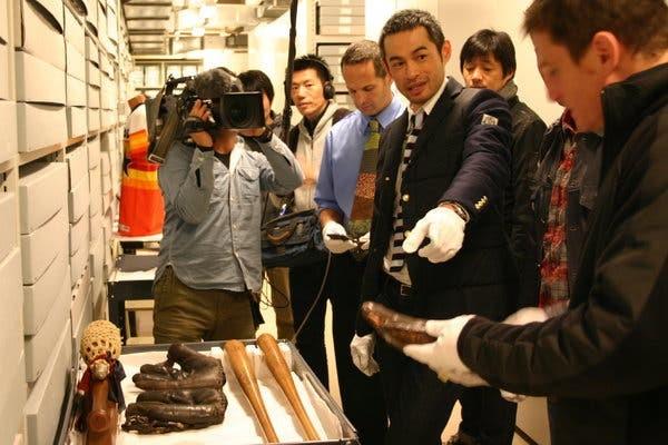 Ichiro Suzuki in Cooperstown