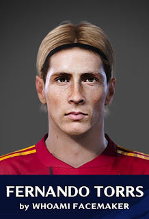 PES 2020 Faces Fernando Torres by WhoamI