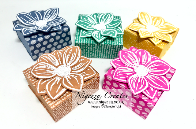Nigezza Creates with Stampin' Up! Floral Essence & 2020- 2022 In Colours