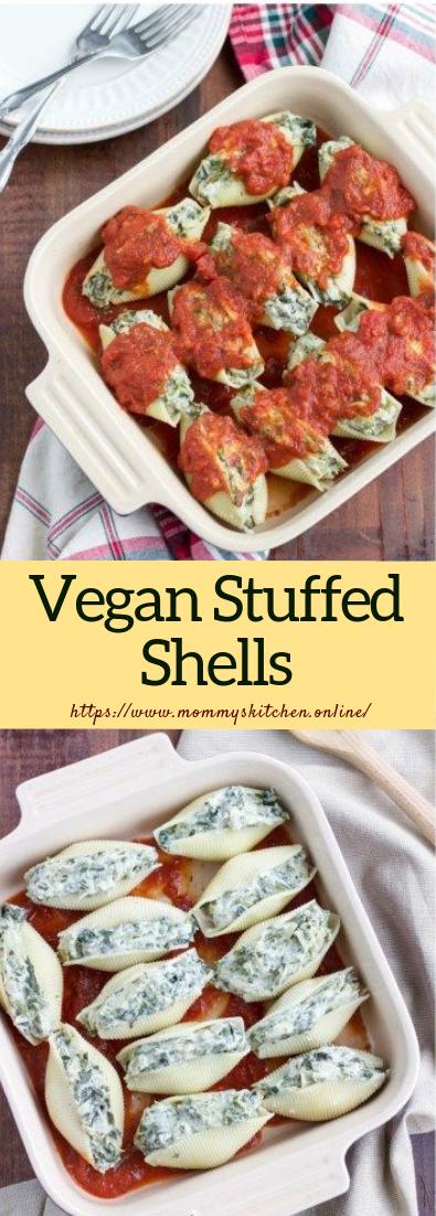 Vegan Stuffed Shells #dinner #lunch