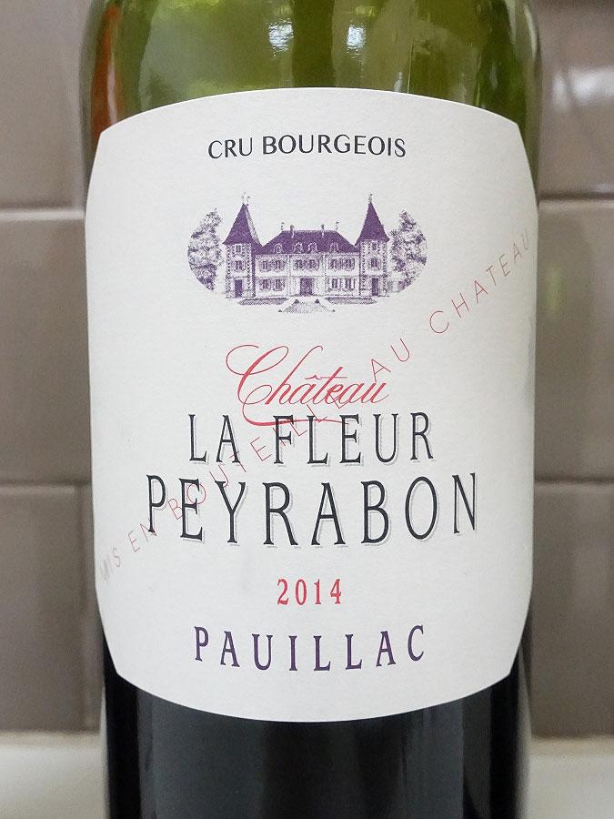 Château La Fleur Peyrabon 2014 (91 pts)