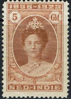 NETHERLANDS INDIES 1923 WILHELMINA