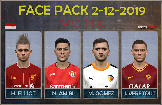 PES 2017 FacePack 2.12 by Mo Ha Facemaker