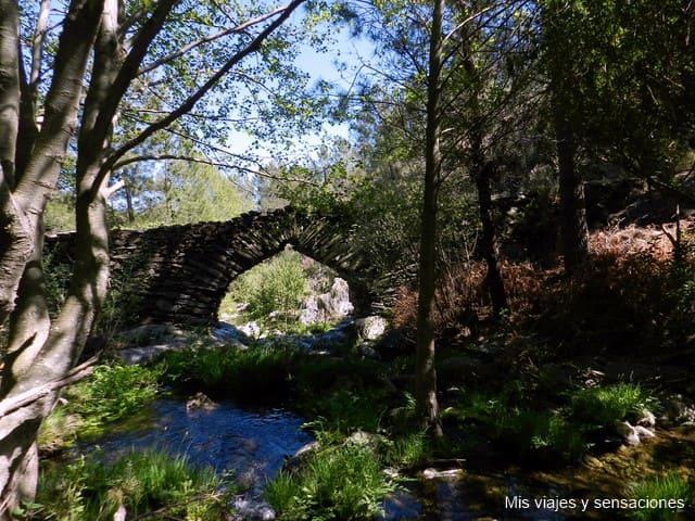 Puente de los Machos, Hurdes, Extremadura