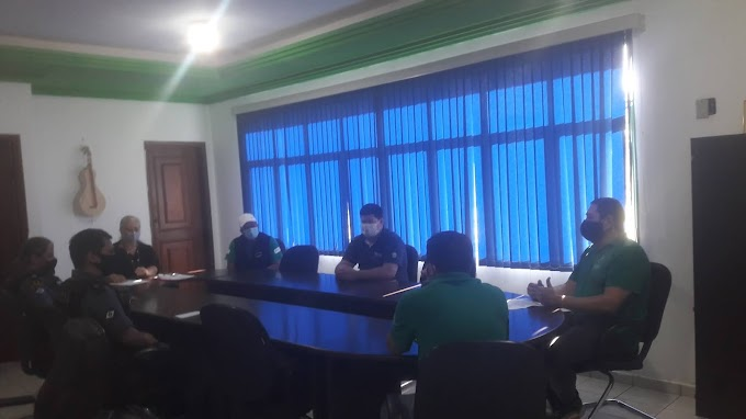 Comitê de Enfrentamento ao Covid-19 está reunido neste momento  na Prefeitura
