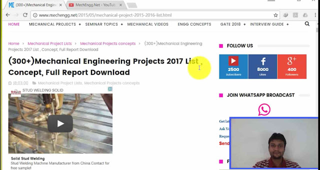 Selection Of Mechanical Project 2017