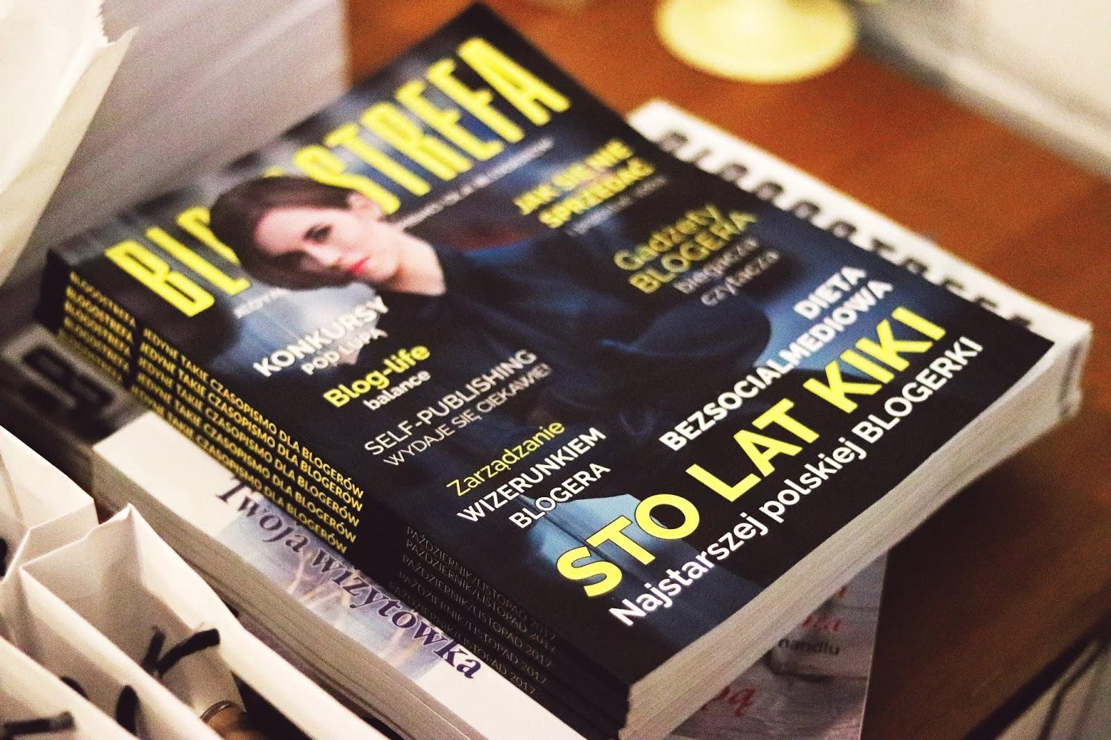 czasopismo dla blogerów Blogostrefa - recenzja