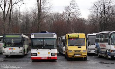 Scania CN113CLL i Kapena City w Oświęcimiu