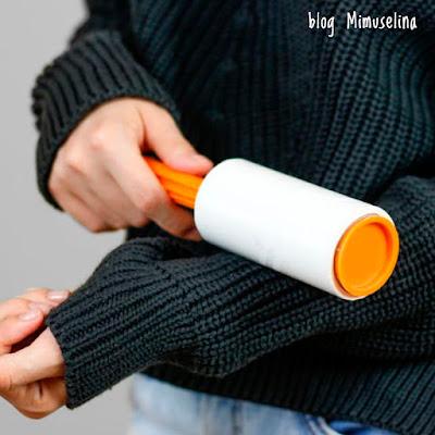 cómo quitar bolitas de las prendas de ropa y evitar que salgan pelotillas en los jerseys blog mimuselina