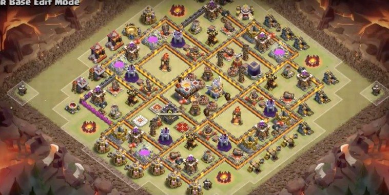 Base WAR Anti 3 Bintang TH11