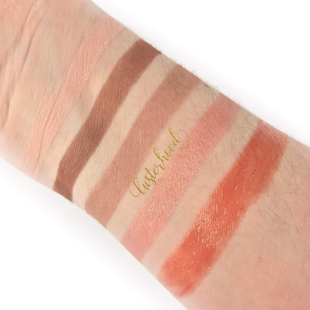 Gabriel Cosmetics Swatches  |  Lusterhood