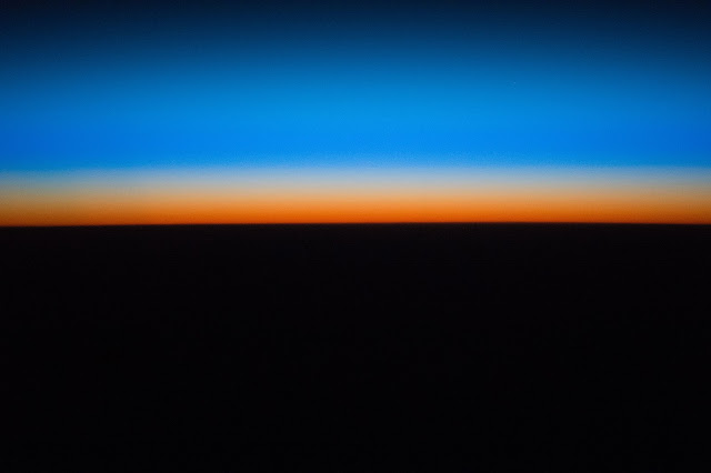 Earth's Atmosphere seen from the International Space Station