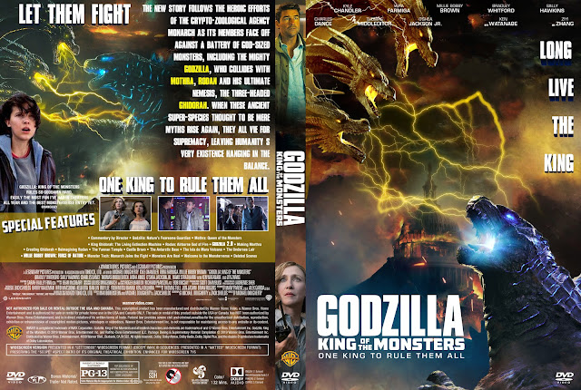 Godzilla: King of the Monsters DVD Cover