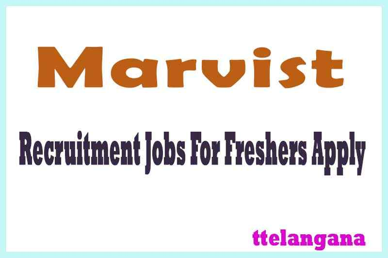 Marvist Recruitment Jobs For Freshers Apply