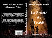 """Couverture de """"La Brume de l'oubli"""", de Bloodwitch Luz Oscuria"""