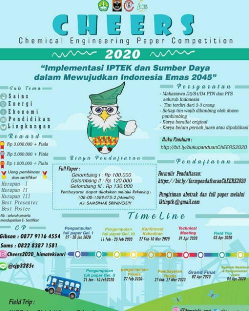 Lomba Karya Tulis Ilmiah Nasional 2020 di UNRI