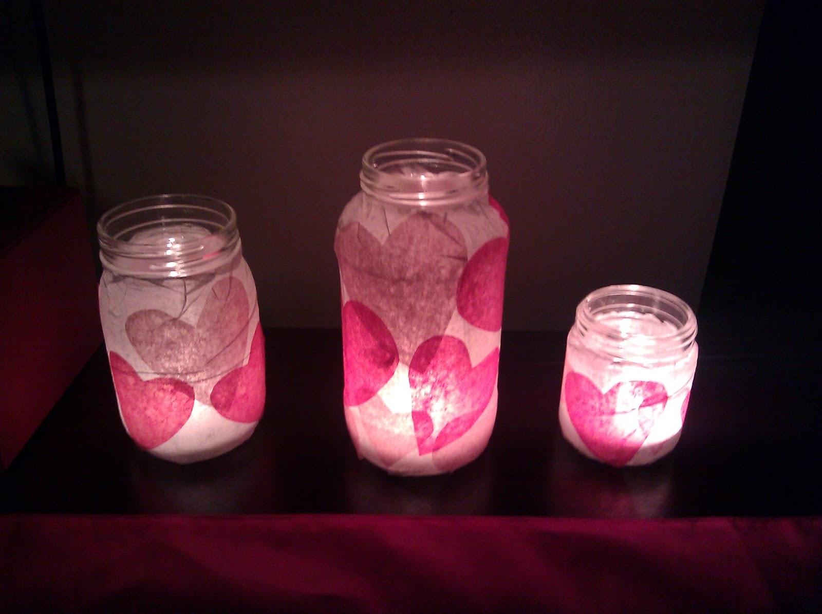Hongkongchic Diy Glass Jar Candle Holders