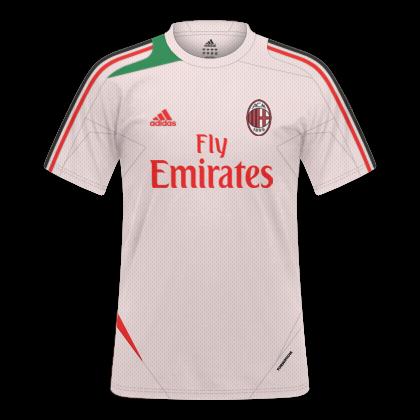 e910bcd3b1 camisas de treino do milan e do real madrid - adidas - 2012 2013 ...
