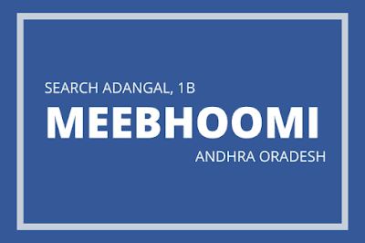 Know_about_Meebhoomi_APP_to_Search_Adangal_1B_Passbook_online_from_Andhra_Pradesh