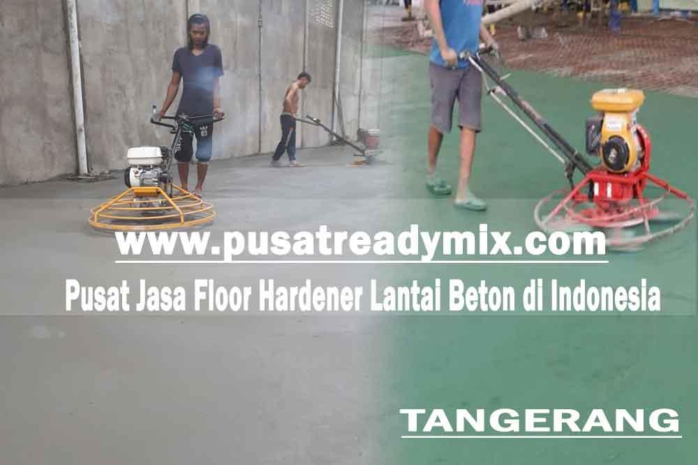 Harga jasa floor hardener lantai beton Tangerang 2020