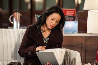Lucy Liu as Joan Watson in CBS Elementary Episode 17 Possibility Two