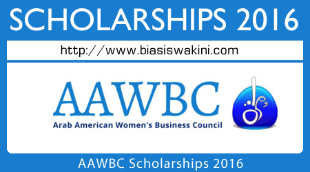 AAWBC Scholarships 2016