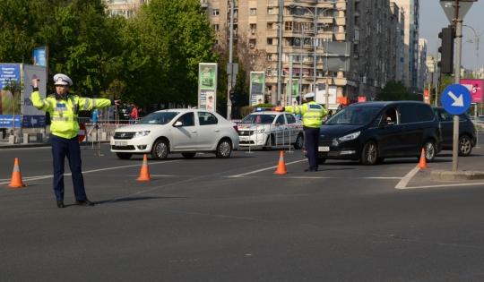 Trafic deviat sau restricţionat, astăzi, în cartier şi în Bucureşti
