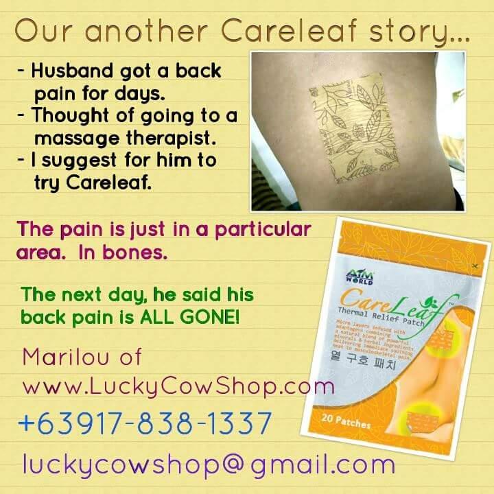 careleaf patch contact info