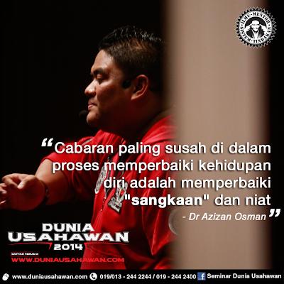 Kata-kata Dr Azizan yang tidak boleh dilupakan oleh blogger