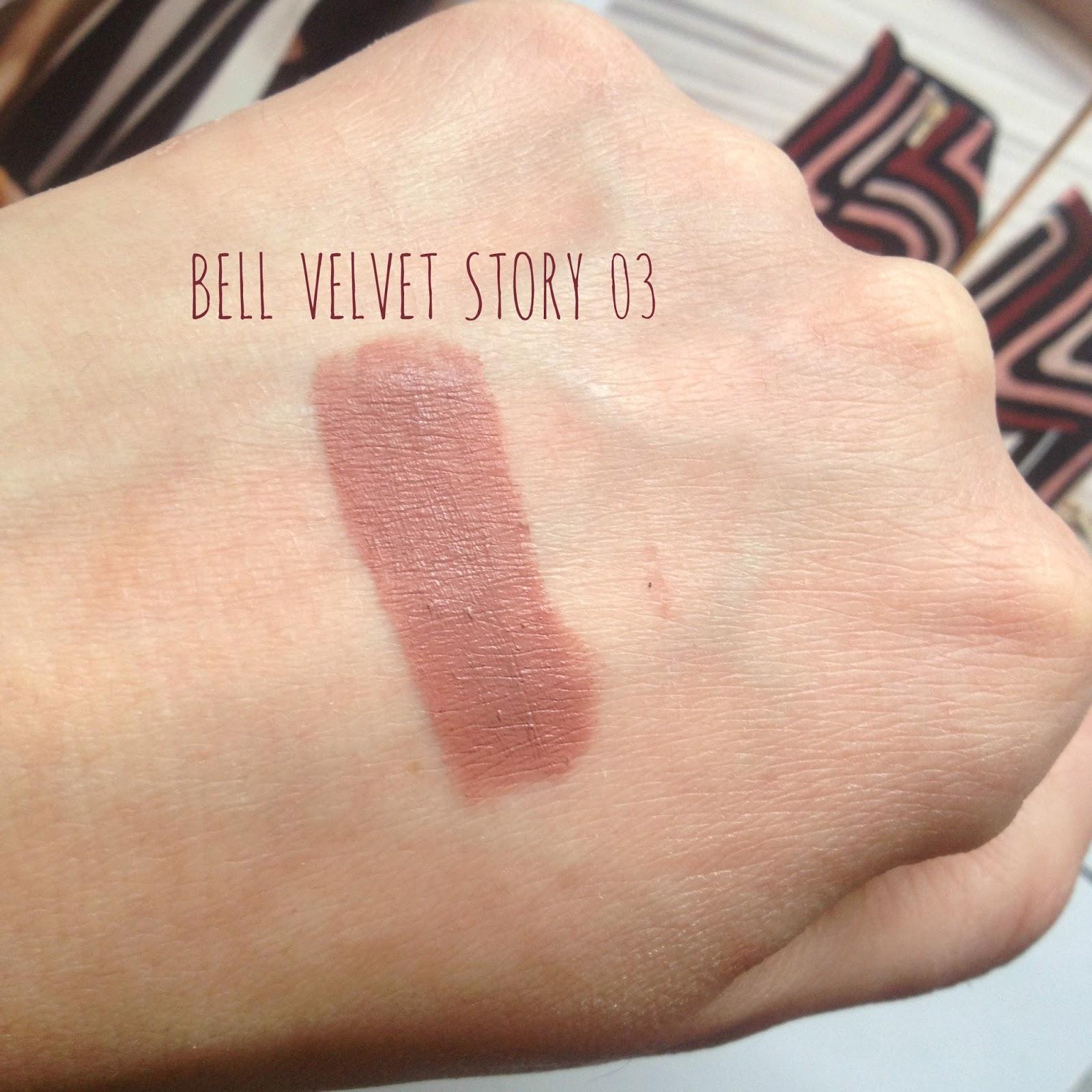 Bell Velvet Story pomadka