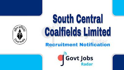 SCCL Recruitment Notification, central govt jobs, govt jobs in India, Latest SCCL Recruitment Update