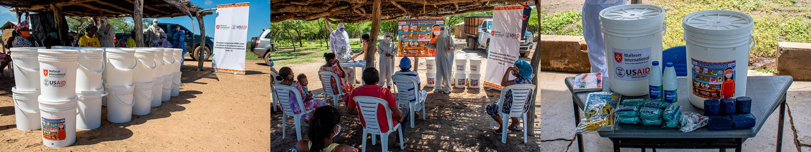 hoyennoticia.com, NP Malteser International Americas entregó 1.300 de Kits de higiene a comunidades wayuu en Riohacha