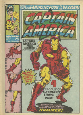 Captain America #9, Iron Man