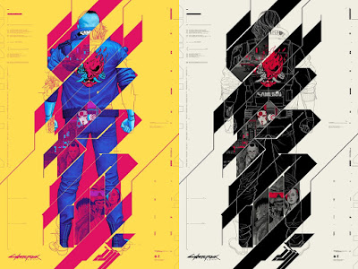 Cyberpunk 2077 Screen Print by Phantom City Creative x Mondo