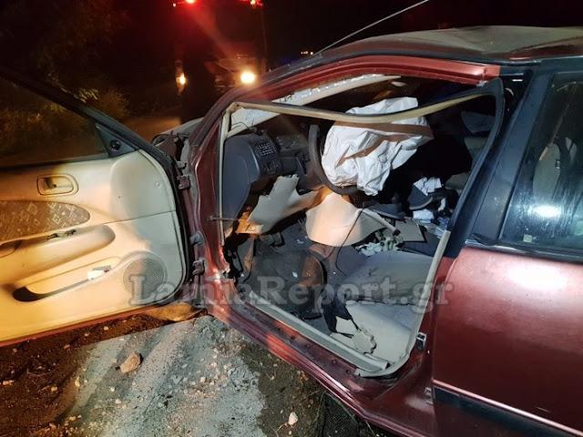 Στυλίδα: Αγριογούρουνο προκάλεσε σοβαρό διπλό τροχαίο