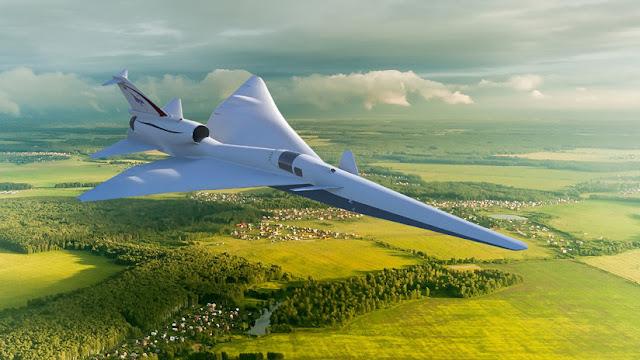 NASA prueba en la población efectos de boom sónico de sus futuros aviones supersónicos comerciales