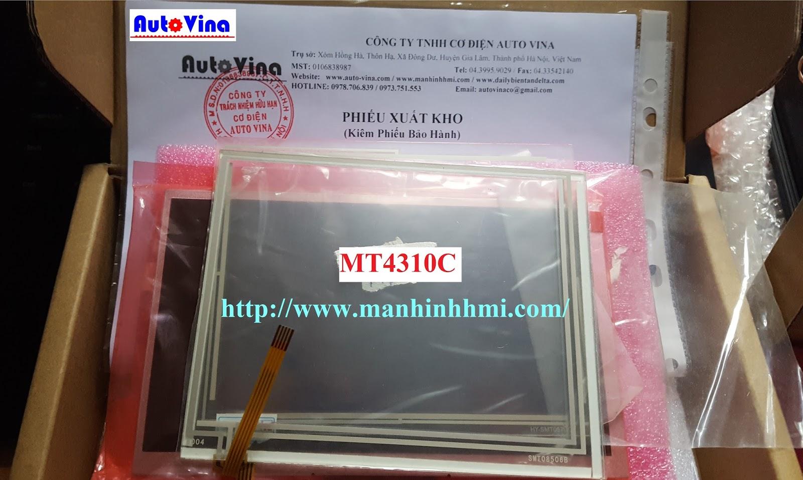 Cung cấp phụ kiện sửa chữa, thay thế tấm kính cảm ứng HMI Kinco MT4310C 5.6 inch