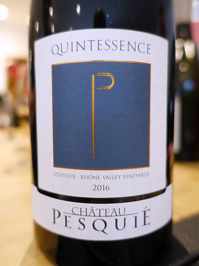 Château Pesquié Quintessence Blanc 2016 (89 pts)
