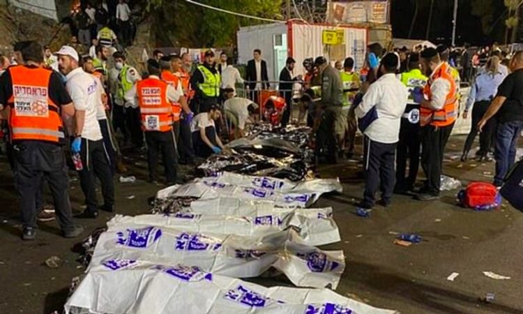 Puluhan Warga Israel Tewas Terhimpit Saat Perayaan Lag BaOmer