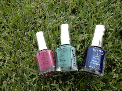NYX Girls Nail Polishes www.modenmakeup.com