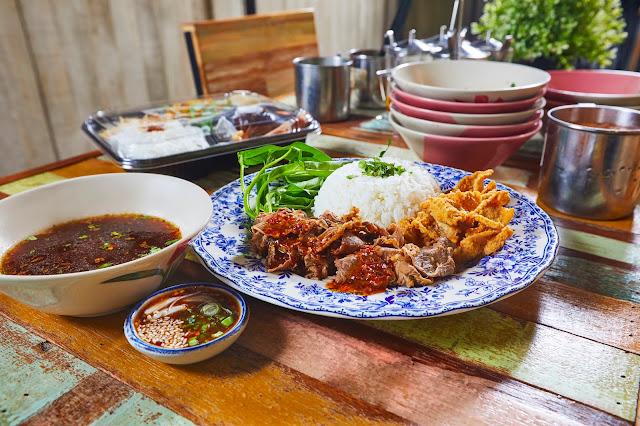 Beef Pathumthani Rice Set RM 15.90