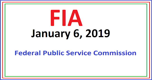 fia past papers | fpsc past papers 2019