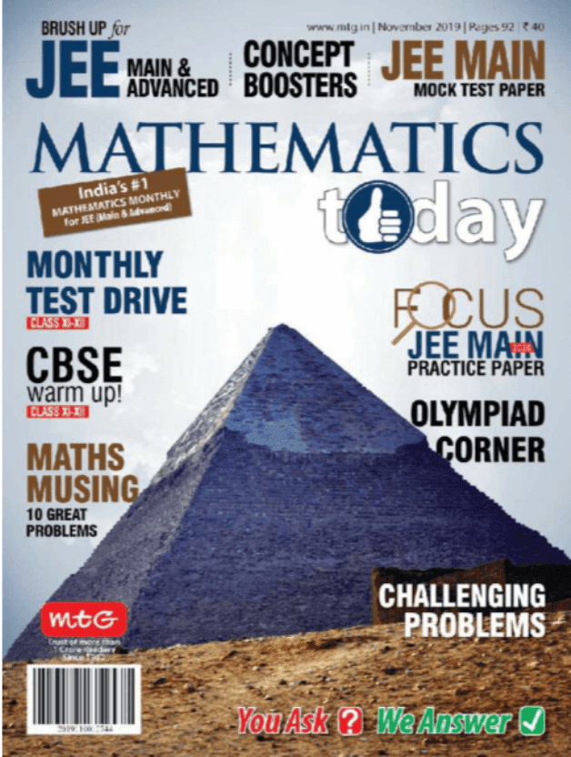 Mathematics-Magazine-November-2019-For-IIT-JEE-Exam-PDF-Book